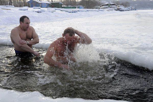 banho frio - Desconforto voluntário