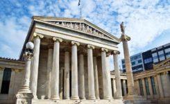 Academia de Atenas na Grécia