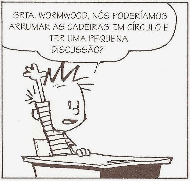 Calvin na escola - senso comum