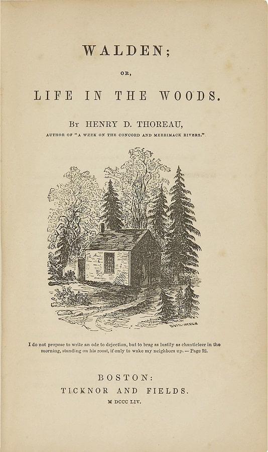 walden de Thoreau