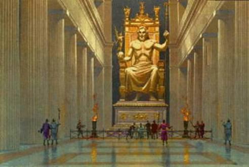 A Estátua de Zeus