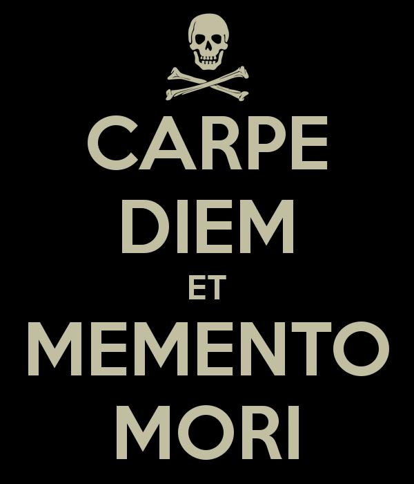Carpe Diem et Memento Mori banner