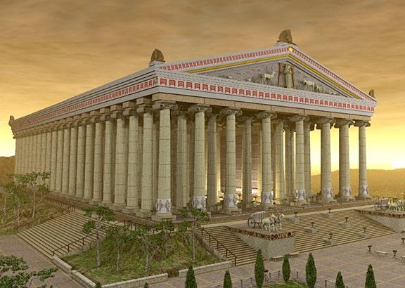 O Templo de Artêmis