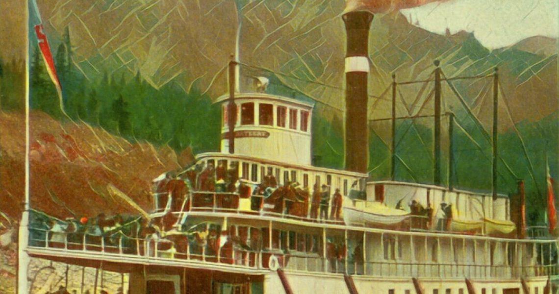 Metáfora – O Barco a vapor